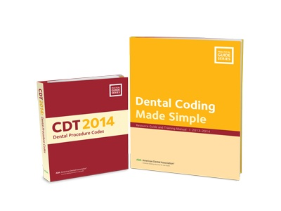 A Pair of CDT Code Books Updated for 2014 Now Available from the American Dental Association
