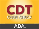 The 2014 CDT Code Check App is Now Available from the ADA