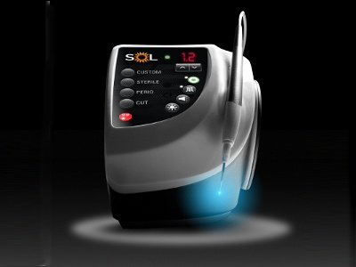 New Dental Product Sol Portable Diode Laser From Denmat