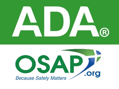 American Dental Association, OSAP Issue Responses to High
