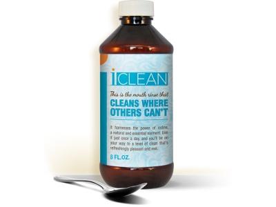 Iodine mouthwash