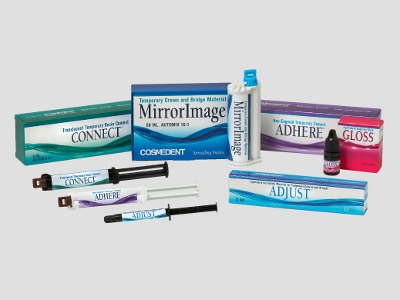 New Dental Products: Cosmedent Launches Temporary Crown and Bridge Materials