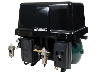New Dental Products: RAMVAC Osprey 24 Air Compressor and Osprey Sound Cover from DentalEZ Group