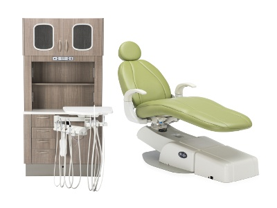 New Dental Products: Centennial 2 Cabinets and Spirit 1700 Dental Chair from Pelton & Crane