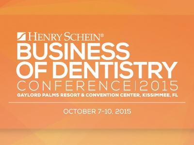 Henry Schein Announces 2015 Business of Dentistry Conference