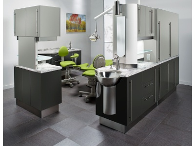 Enhanced Dental Product: Artizan Expressions Dental Cabinetry from Midmark