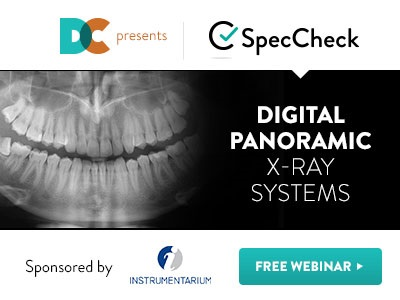 Complimentary Webinar: SpecCheck - Digital Panoramic X-ray Systems