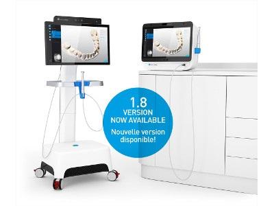 Enhanced Dental Product: Dental Wings Version 1.8 Intraoral Scanner Software from Dental Wings