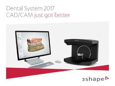 Enhanced Dental Product: 3Shape Dental System 2017 CAD Software