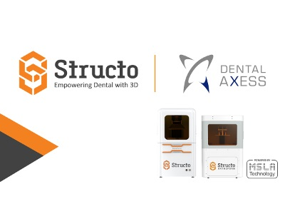 Structo Forms Distribution Partnership with Dental Axess