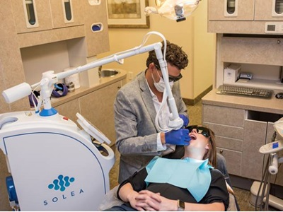 Using a Dental Laser to Prep Multiple Teeth Without Local Anesthesia