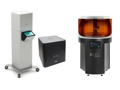New Dental Products: LFAB, DFAB and XCELL 6000PD 3D Printers from DWS Systems
