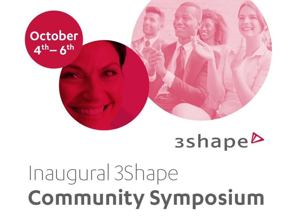 3Shape to Host Community Symposium in October | Dental News