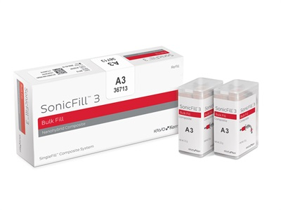 New Dental Product: SonicFill 3 SingleFill Composite System from KaVo Kerr