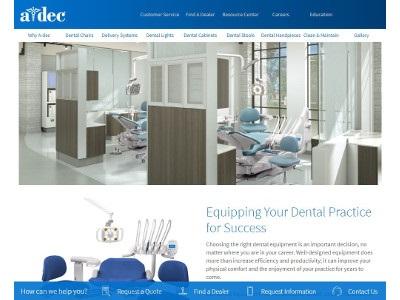A-dec Launches New Website