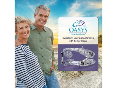 New Dental Product: Oasys Hinge Appliance from Glidewell Dental