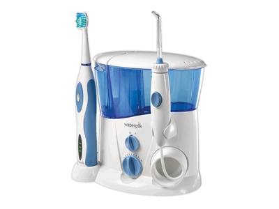 waterpik complete care water flosser and sonic toothbrush from water pik inc dentalcompare. Black Bedroom Furniture Sets. Home Design Ideas