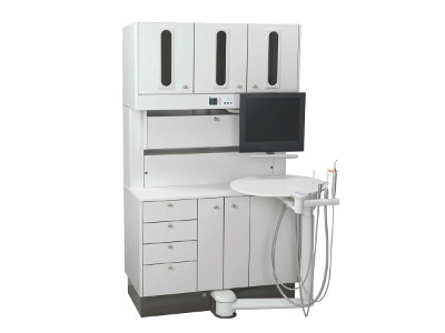 A Dec 500 12 O Clock Assistant S Dental Delivery Unit From