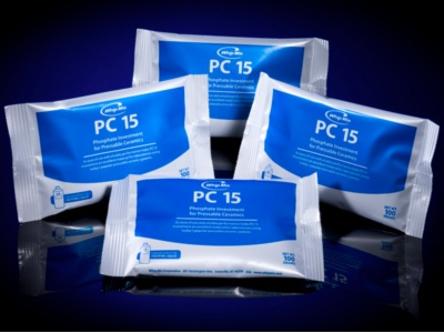 PC 15 Phosphate Bonded Investment